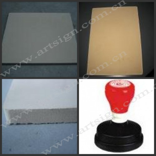 Laser rubber sheet for atom stamp