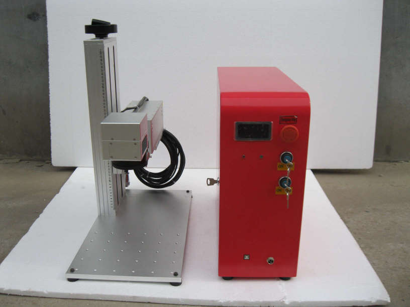 Desktop split version fiber laser marking machine